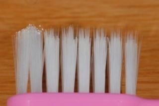 歯周病予防用の歯ブラシ 毛先が細くカットされている